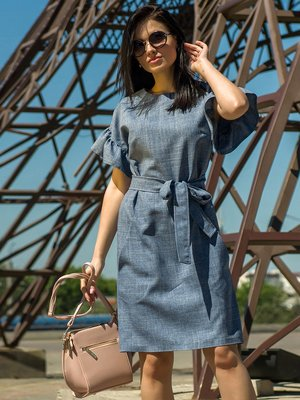 Платье синее | 4323455