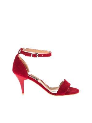 Босоніжки червоні | 4325032