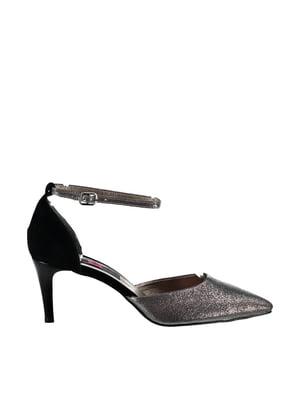 Туфли платинового цвета   4325504