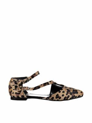Туфли анималистической расцветки | 4325532