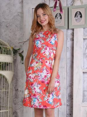 Платье в цветочный принт   4323501