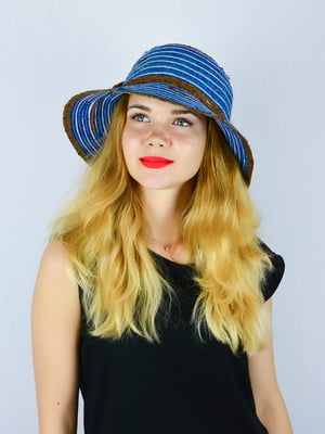 Шляпа синяя | 4326408