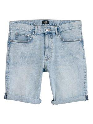 Шорты голубые джинсовые | 4326694