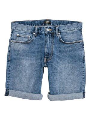 Шорты синие джинсовые | 4326702