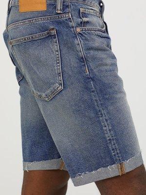 Шорты синие джинсовые | 4326749