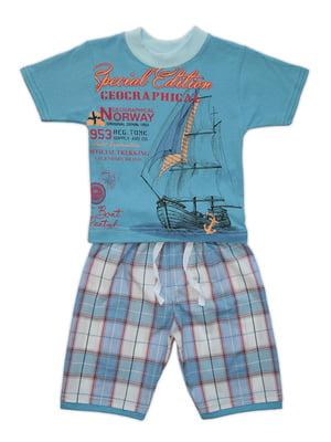 Комплект: футболка і шорти | 4327010