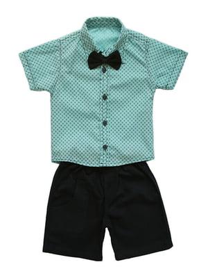 Комплект: сорочка і шорти | 4327018