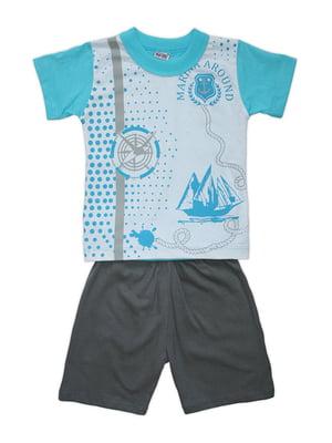 Комплект: футболка і шорти | 4327029