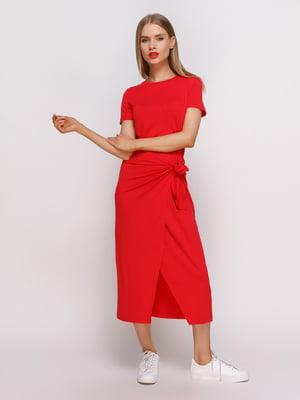 Платье красное | 4314924