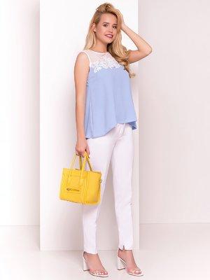 Блуза голубая   4326611