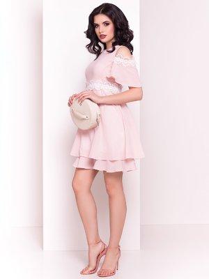 Платье пудрового цвета | 4326662