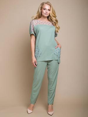 Костюм: блуза і штани | 4327741