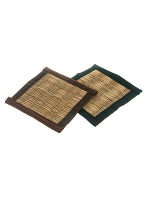 Плетеная подставка под горячее (8 см) | 4329182