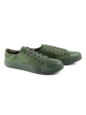 Кеды зеленые | 4333370