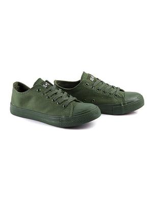 Кеды темно-зеленые | 4333388