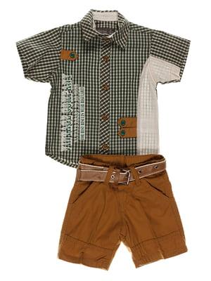 Комплект: сорочка і шорти | 4305437