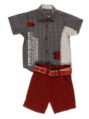 Комплект: сорочка і шорти | 4305438