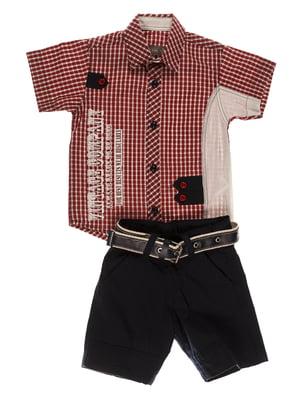 Комплект: сорочка і шорти | 4305446
