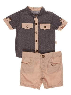 Комплект: сорочка та шорти | 4220709