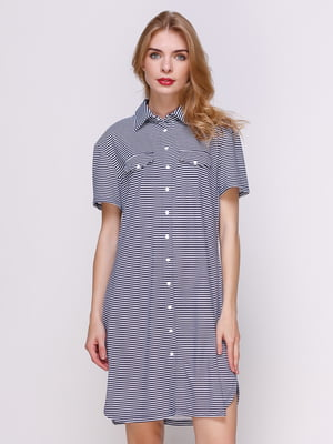 Платье в полоску   4333898