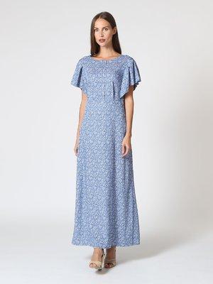 Платье голубое в принт   3118834