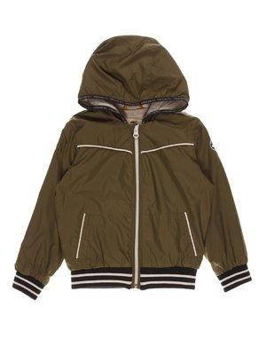 Куртка кольору хакі | 4328517