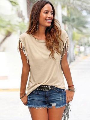 Блуза бежева | 4341357