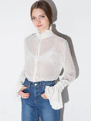Блуза біла | 4341375