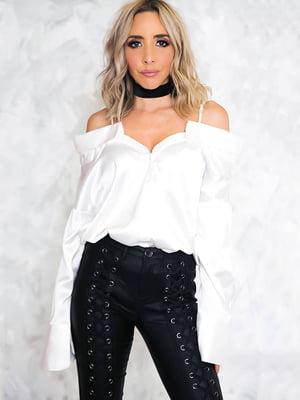 Блуза біла | 4341454