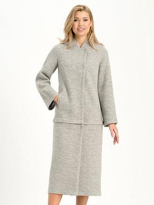 Пальто серое | 4068317