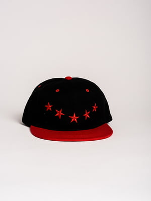 Бейсболка чорно-червона   4298634