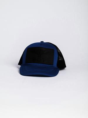 Бейсболка чорно-синя   4342592