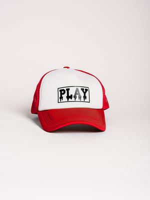 Бейсболка двоколірна   4342598