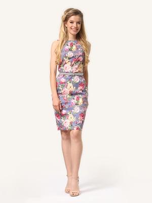Сукня в квітковий принт   4343497