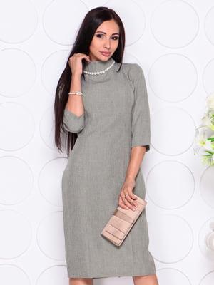 Сукня темно-оливкова | 4343335