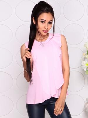 Блуза нежно-розовая | 4343337