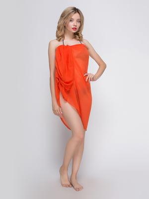 Шаль оранжевая | 3256529