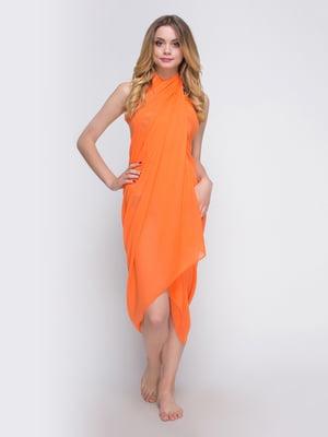Парео оранжевое | 3084004