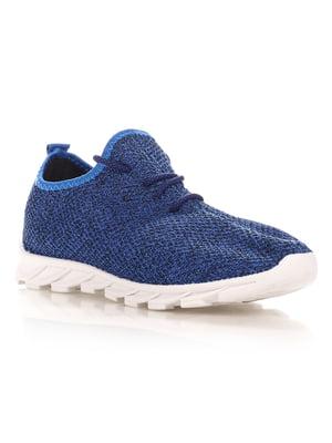 Кроссовки синие | 4341122