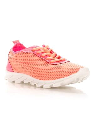 Кроссовки оранжевые | 4341121