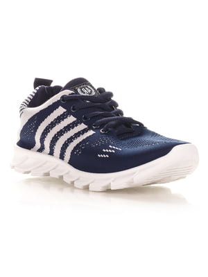 Кроссовки сине-серые | 4341129