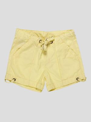 Шорты желтые | 4284225