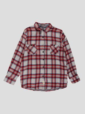 Рубашка клетчатая | 4314082