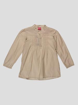 Блуза бежева | 4302644