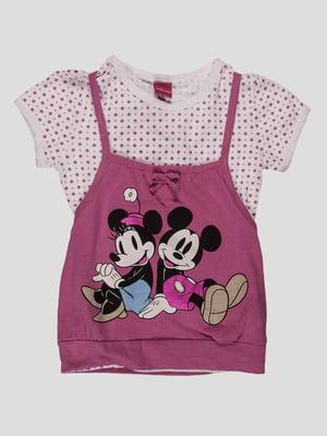 Комплект: топ і футболка   4303060