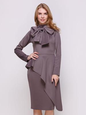 Сукня темно-сіра | 4063842