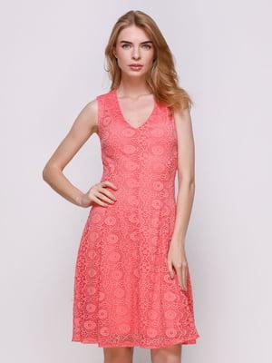 Платье розовое | 3195582