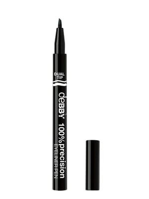 Ручка-подводка для глаз двойная 100% Precision №1 (0,8 мл)   4346891