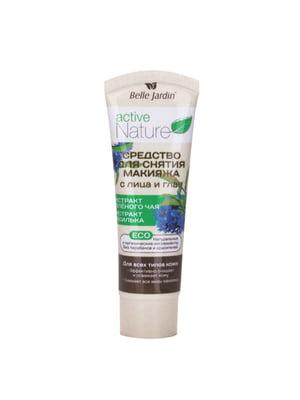 Средство для снятия макияжа с лица и глаз (зеленый чай и василек) (85 мл)   4346736