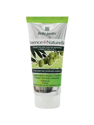 Засіб для зняття макіяжу з обличчя та очей 3 В 1 з екстрактом зеленої оливки (200 мл) | 4346742